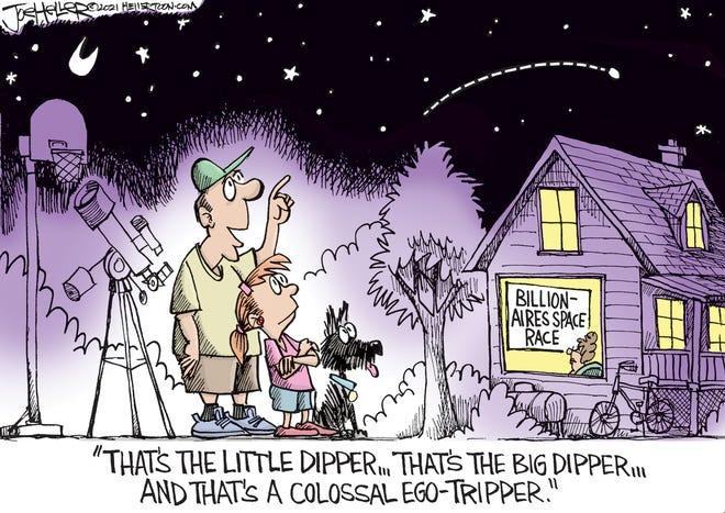 Joe Heller Space Billionaires