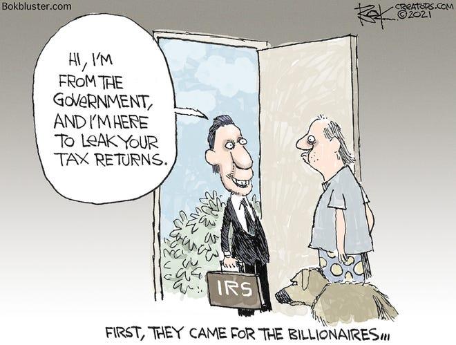 Today's editorial cartoon (July 12, 2021)