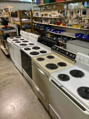 A wide selection of appliances and construction materials are available at the ReStore.