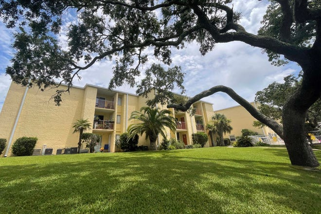 The Cedars condominium complex sits on bluff overlooking Santa Rosa Sound, just a little west of the intersection of U.S. Highway 98 and Doolittle Boulevard in Mary Esther.