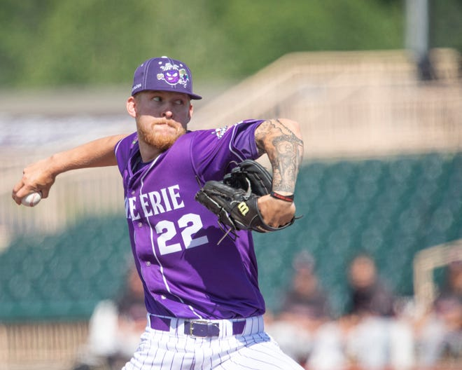 Harbor Springs native Ean Walda entered the professional baseball ranks with the Lake Erie Crushers this summer after a career with Pikeville.