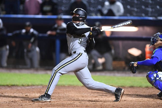 Liam McGill, who catches and plays first base, hit .471 with an on-base percentage of .541 for Bryant this past season.