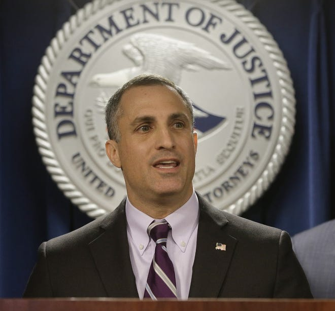 """Joseph R. Bonavolonta, special agent in charge of the FBI Boston division, said the investigation took at least 152 pounds of methamphetamine off the street, """"which is a record amount for this region."""""""