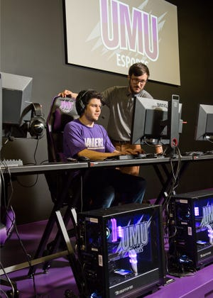 The University of Mount Union in Alliance operates an esports program, led by Derek Spinell.