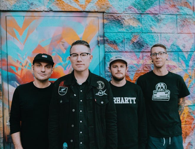Hawthorne Heights is performing on Friday at The Auricle in Canton. Tickets are $20 for the 8 p.m. concert and are available online through TicketWeb.