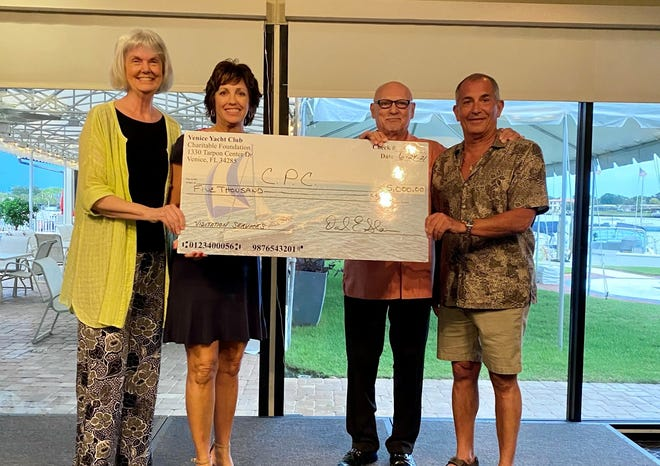 A $5,000 grant from Venice Yacht Club Charitable Foundation will provide crucial fundingfor the Child Protection Center's visitation program.