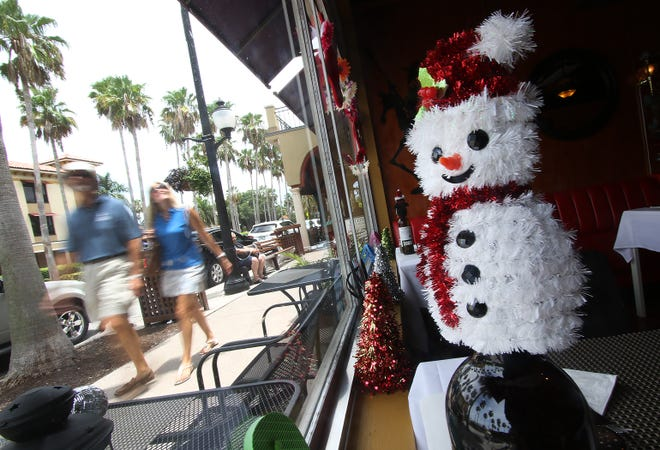 Christmas in July returns to downtown Venice on Friday and Saturday.