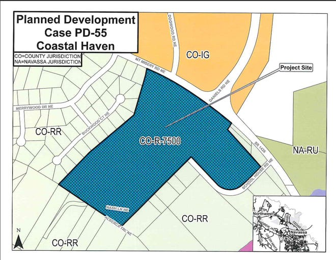 The Brunswick County Planning Board will consider approving close to 500 single-family homes at its next meeting.