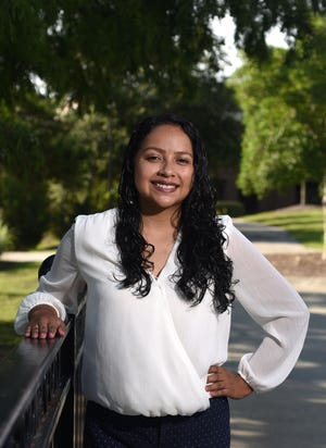 Jessica Aguilar, Program Coordinator for Juntos 4-H Pender County at UNCW in Wilmington, N.C., Friday, July 9, 2021. Aguilar is one of the StarNews 40 Under 40 honorees for 2021.