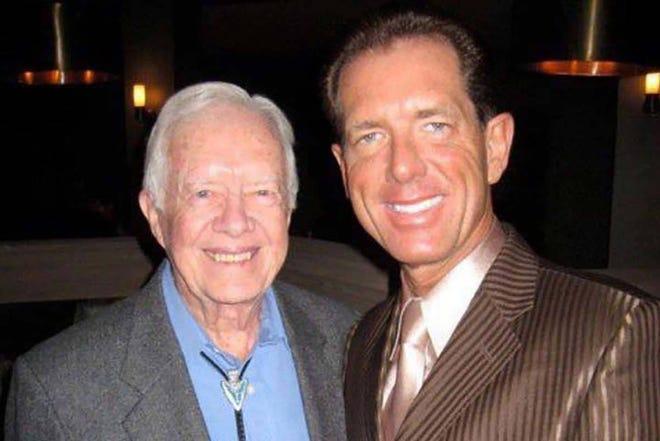 President Carter and David Osborne