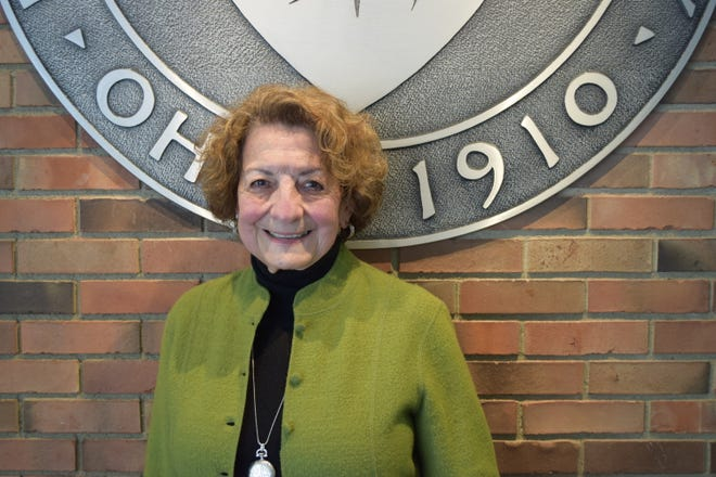 Kent State Tuscarawas recently honored Peggy Pritz with a 2021 Kent State Tuscarawas Community Service awards.