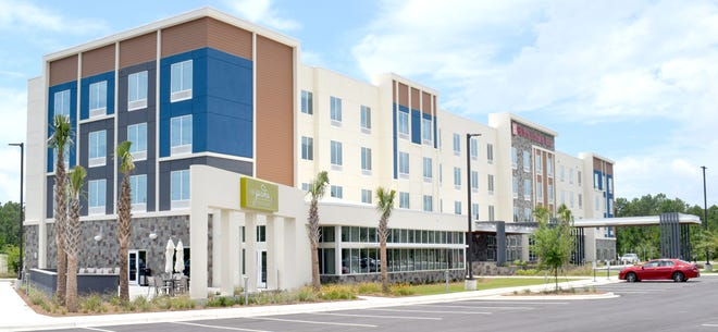 A Hilton Garden Inn opened Thursday less than a mile from Northwest Florida Beaches International Airport in Bay County.