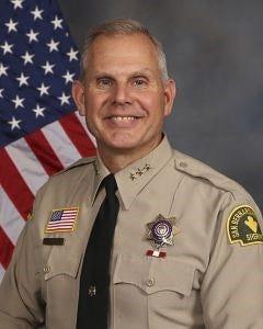 San Bernardino Sheriff Shannon Dicus.