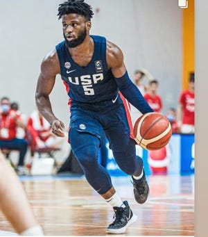Lancaster High School graduate Mike Miles is competing for Team USA in the 2020 Olympics (Under 19) Men's Basketball World Cup in Latvia this week.