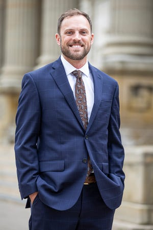 While Luke Feeney grew up knowing the importance of public service as a part of student council and leadership activities in the Boy Scouts, he did not dream of a career in politics.