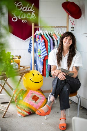 Amy Webb is the owner of the Cincinnati-based, online vintage store Odd Stock (@oddstockco on Instagram). The online shop just celebrated two years in business.