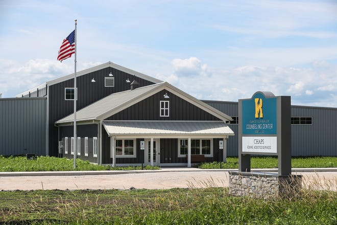 Fond du Lac's new Rawhide Youth Services equine therapy facility now open at N5682 County Road K.