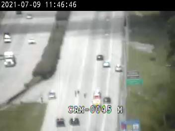Louisville Metro Police said one person was shot and injured about 10:15 a.m. Friday, July 9, 2021, on Interstate 64 West by I-265.