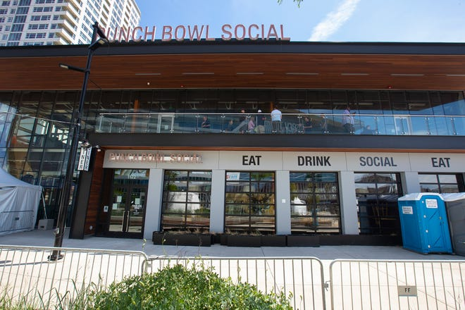 Punch Bowl Social, located within the Deer District outside Fiserv Forum, will reopen in the fall. It has been closed since March 2020.
