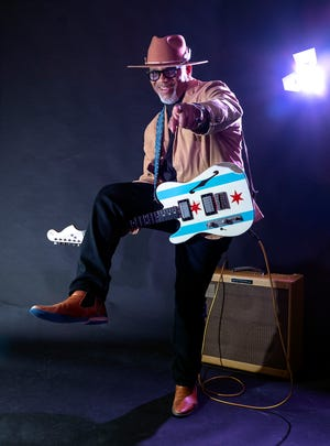 Chicago blues artist Toronzo Cannon is one of the headliners at this year's Granville Blues Fest.