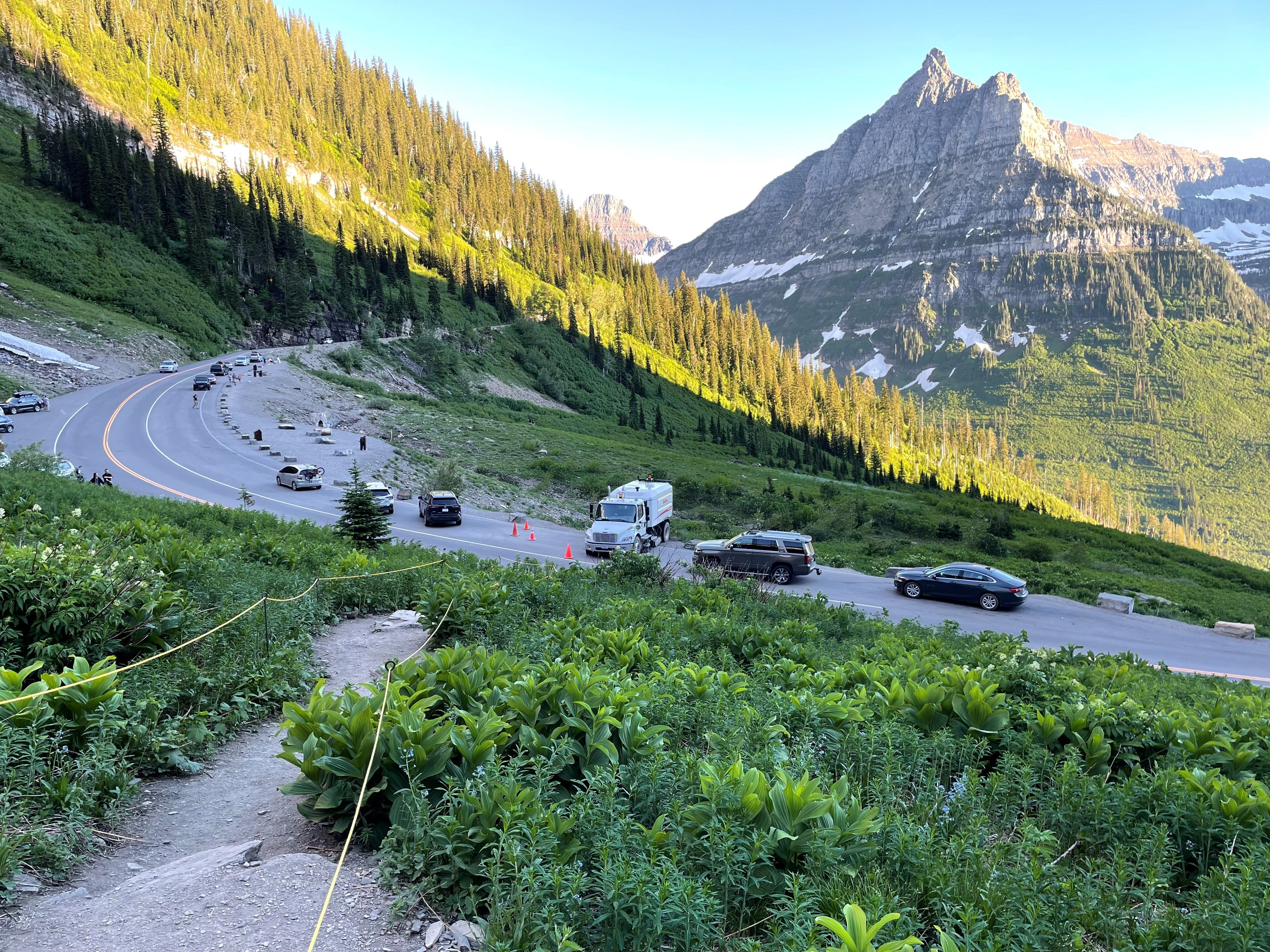 Glacier National Park's ticketed entry: How to drive Going-to-the-Sun Road this summer