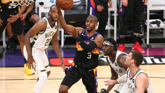 Milwaukee Bucks defeat Phoenix Suns in Game 3