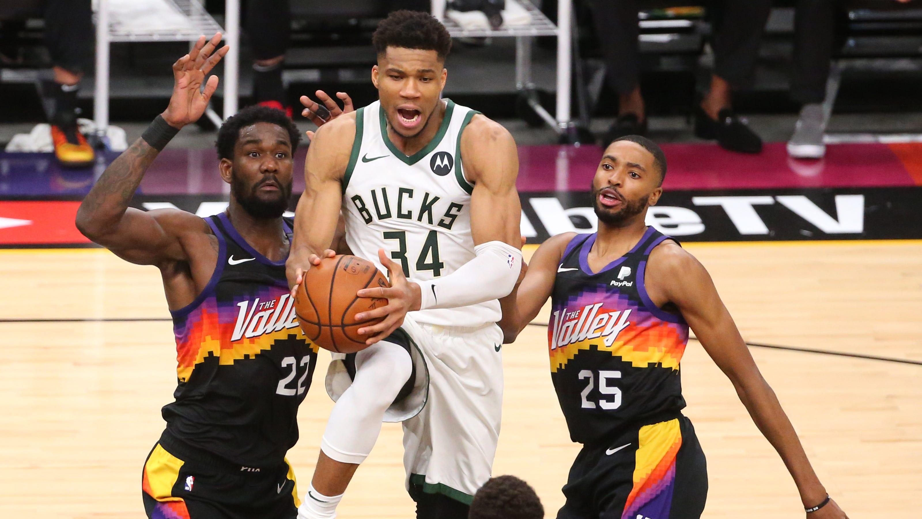 Phoenix Suns vs. Milwaukee Bucks NBA Finals Game 3 picks ...