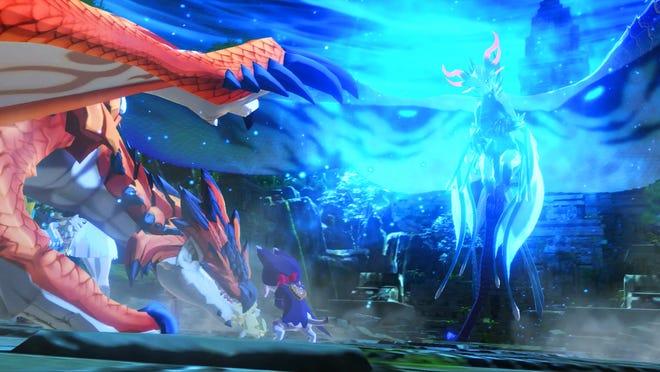 The last boss Oltura in Monster Hunter Stories 2: Wings of Ruin.