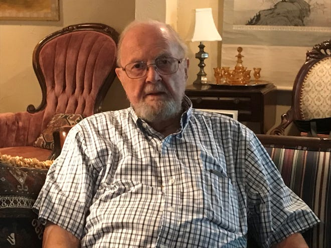 Jack Hembree, 92, of Springfield recalls the day in 1959 when he saw an unidentified flying object while he was in the Army on the White Sands Missile Range in New Mexico.