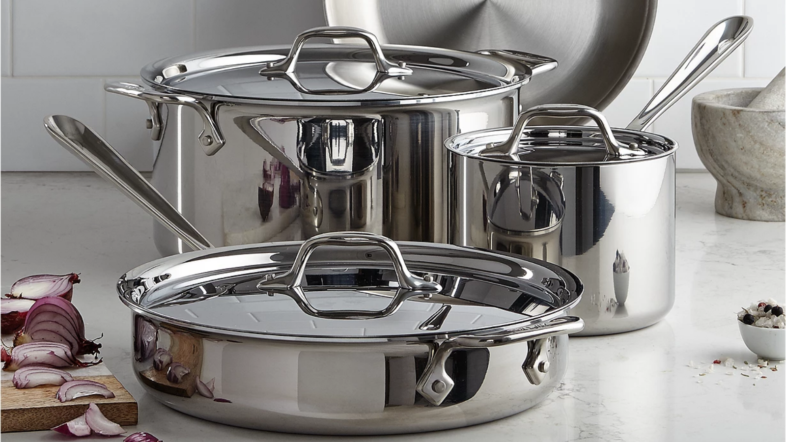Get All-Clad cookware for up to 55% off at Macy s Black Friday in July sale