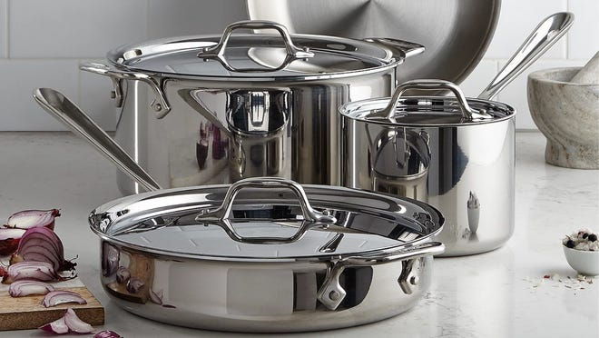 Full Covered Cookware at up to 55% off at Macy's now.