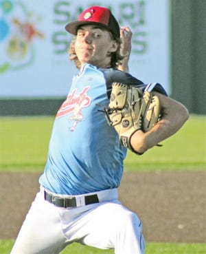 Brenden Asher threw four clutch shutout innings Friday for the Doenges Ford Indians to keep the door open in their home regional game against MMW-Victus American. Victus won in the bottom of the eighth, 6-5.