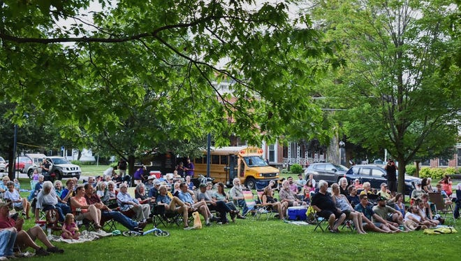 """The Thursdays on the Village Green summer entertainment series returns July 15 in Hamilton, featuring """"Magic Rocks!"""" with Leon Etienne followed by live music by Chris Eves and the New Normal."""