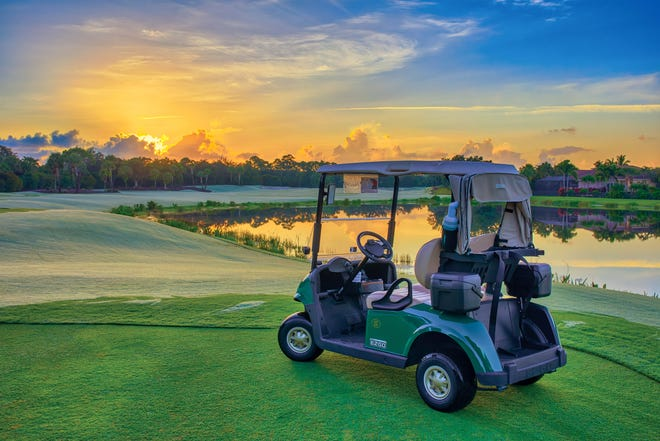 The Country Club at Mirasol in Palm Beach Gardens is one of many private golf clubs in south Florida that has experienced a bubble during the coronavirus pandemic.