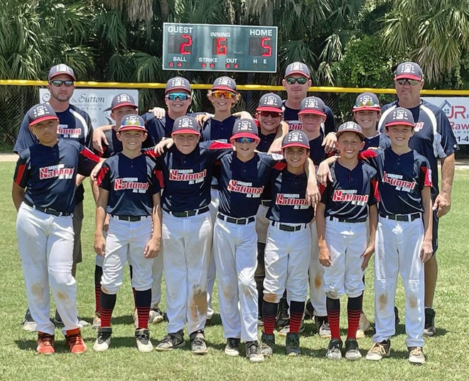 Action from the Sarasota National Little League's game against LaBelle in the Section 6 tournament Saturday in North Port.