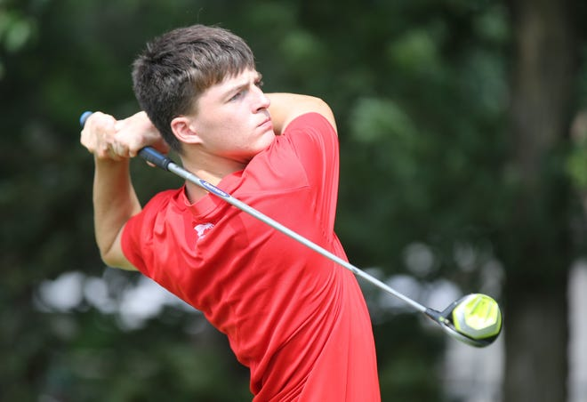 Addison Alonzo fired an even-par 70 during Friday's first round of the Ed Bozarth City Stroke Play at Lake Shawnee Golf Course, putting him one shot behind leader Ben Moser. It also allowed him to beat younger brother, Myles, by two shots.