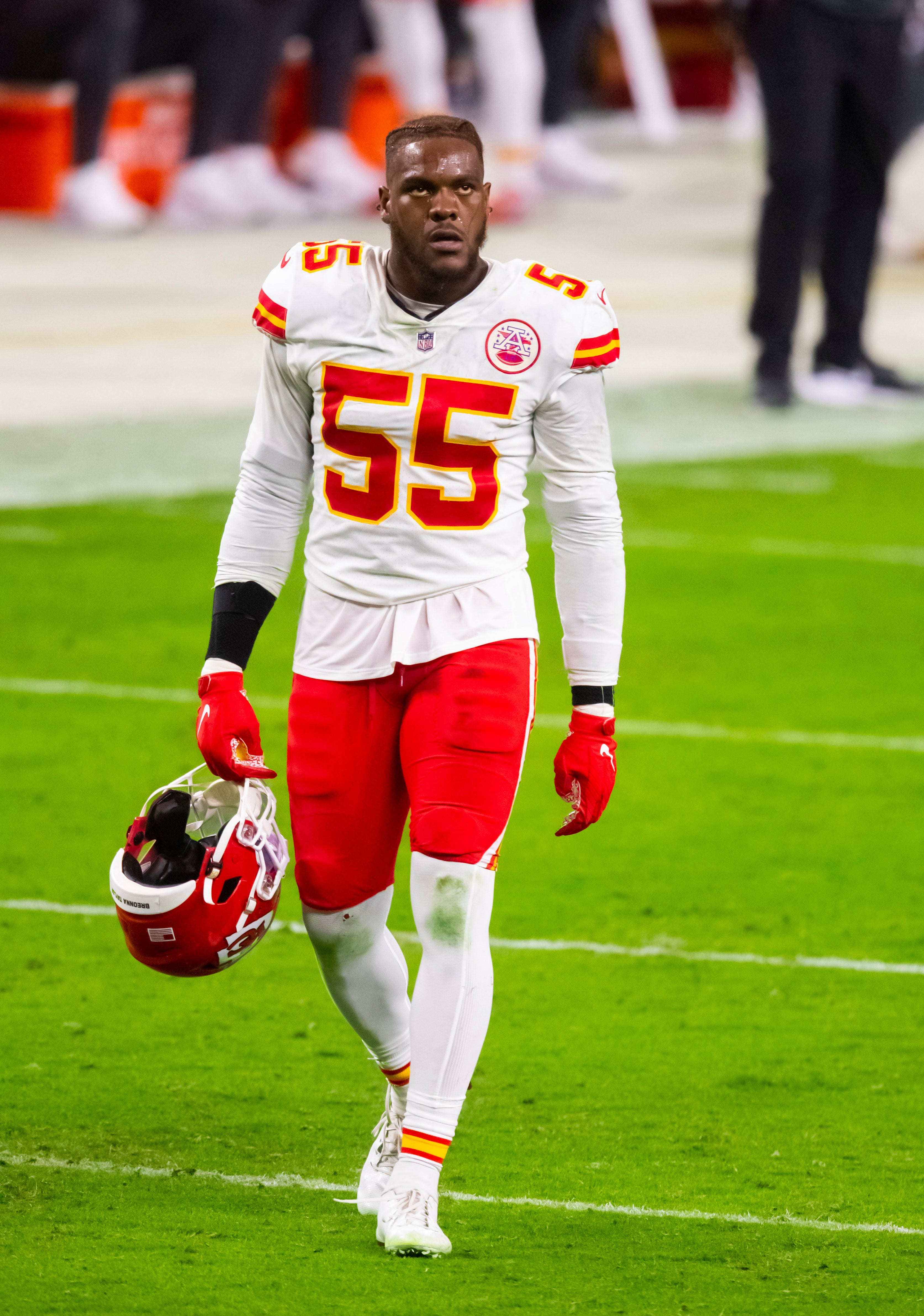 Report: Kansas City Chiefs  Frank Clark charged with felony possession of an assault weapon