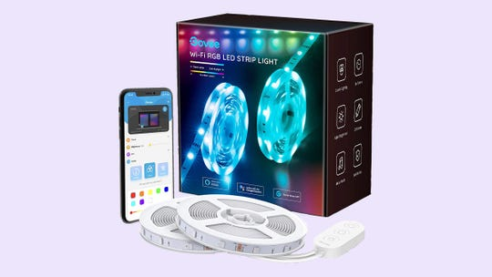 These Wi-Fi strip lights from Govee are our pick for best value in LED strip lights, and right now they