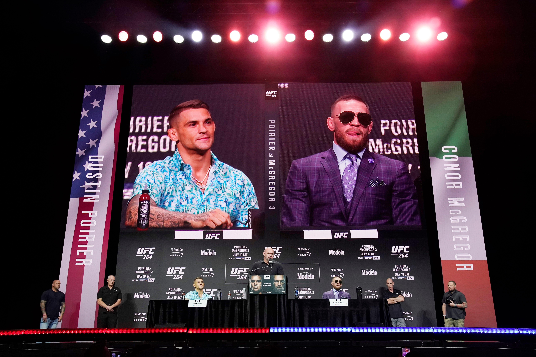 Celebrities descend on T-Mobile Arena for UFC 264: Dustin Poirier vs. Conor McGregor 3