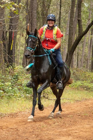 Beth Thiele has been able to ride her horse in long distance races again after a graft was used to fix a damaged nerve that was causing severe pain.