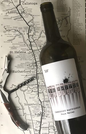The Critic cabernet from Napa Valley on Sunday, July 11, 2021 in Cuyahoga Falls, Ohio.  [Phil Masturzo/ Beacon Journal]