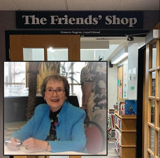 On Wednesday, July 14 ,the Friends of Twinsburg Public Library are hosting a memorial celebration to honor Fran Nugent, the Friends' first president and longtime director of the Friends Shop.