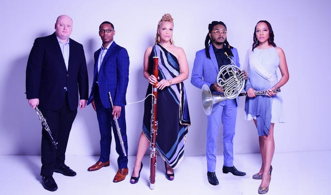 """Imani Winds performs a free family concert on Thursday, Aug. 12, at the Cape Cod National Seashore Visitor's Center Amphitheater in Eastham, 5 p.m. Hear more during """"A Woman's Perspective"""" concert on Friday, Aug. 13, at Wellfleet First Congregational Church, 5 and 7:30 p.m. Tickets:  $40 adults; $15 students; youth ages 18 and under, free."""