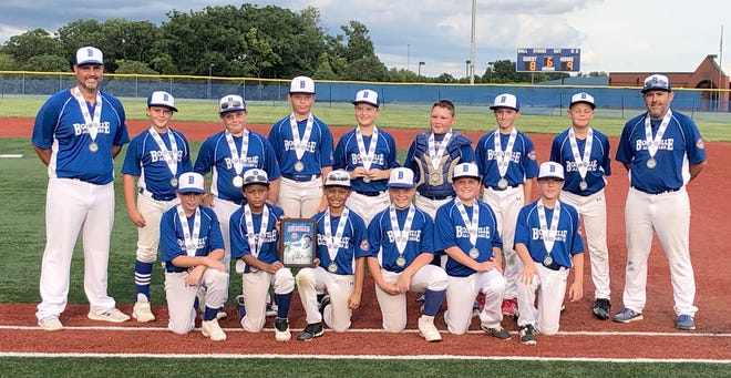 The Boonville 10-year-old All-Stars finished second in the Cal Ripken State Tournament over the weekend in Boonville. The Boonville 10s fell to Central Ozarks 9-8 in the championship game to finish the tournament at 5-1 overall. Central Ozarks went undefeated in the tournament by winning all six games. Central Ozarks will advance to the Midwest Plains Regional Tournament in Minot, North Dakota on July 22-26.