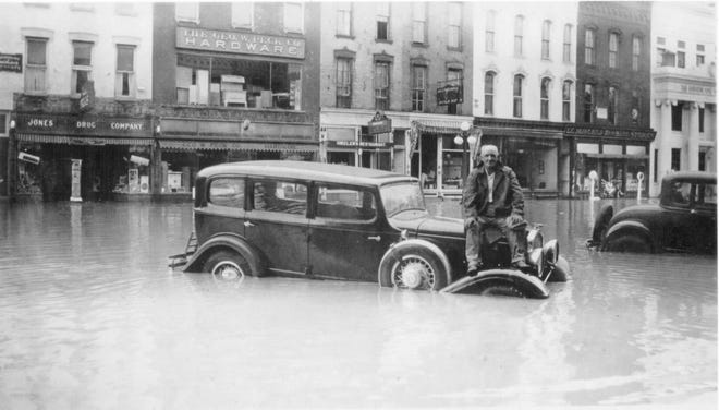This Bath gentleman is actually doing better than many others. He's apparently uninjured, and he knows where his car is.
