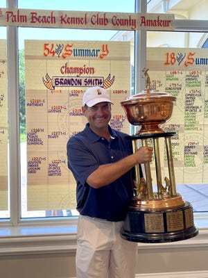 """On winning the county amateur golf tournament, Brandon Smith said, """"I don't know if there's anything else like it in the country. It's hard to win."""""""