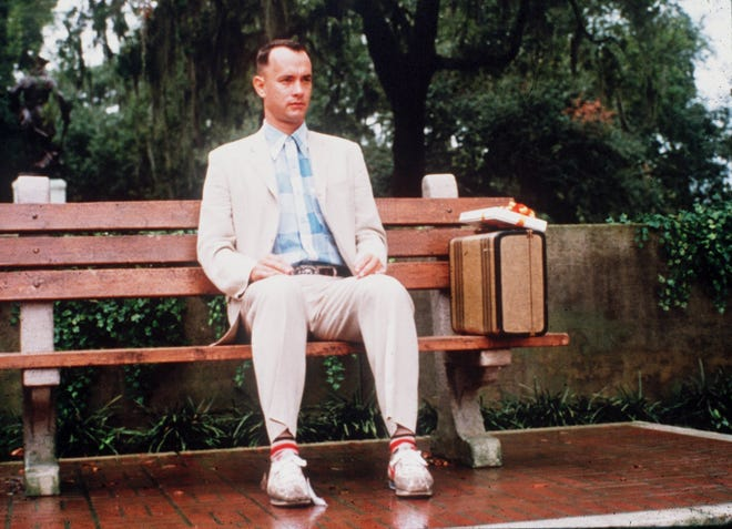 """Tom Hanks in """"Forrest Gump."""" Was this movie a representation of all Baby Boomers?"""