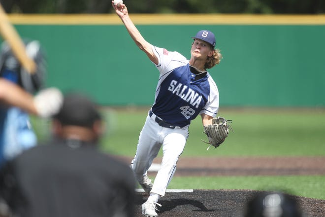 Seth Clemmer is scheduled to start on the mound for the Salina Hawks when they face Central-Burden at 8:30 p.m. Wednesday in their Kansas Junior American Legion state tournament opener at Dean Evans Stadium.
