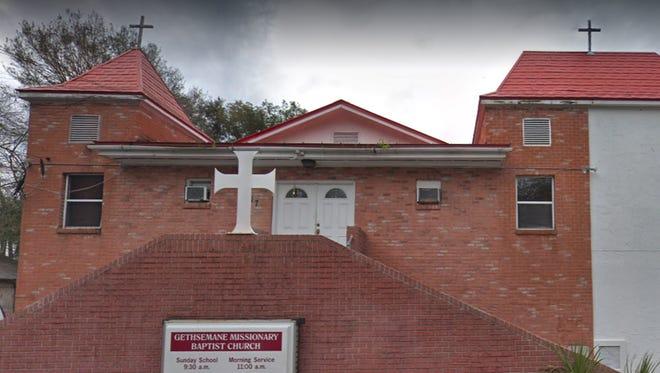 Gethsemane Missionary Baptist Church, 317 Daniels St. in Hastings.