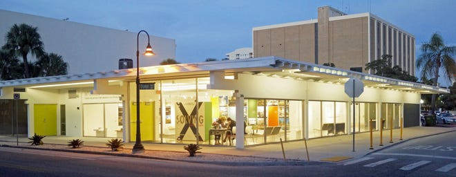 The McCulloch Pavilion now serves as the headquarters of the Center for Architecture Sarasota.